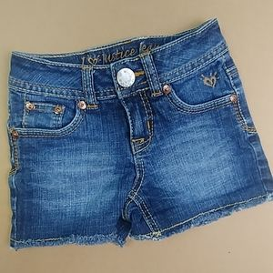 Distressed Justice Jean Shorts Size 7